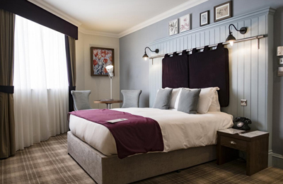 The Chamberlain Hotel Tower Hill London - luxury double room