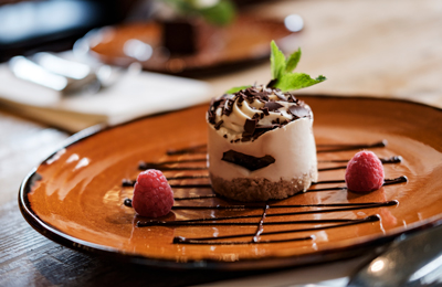 The Chamberlain Hotel Tower Hill London - dessert from restaurant