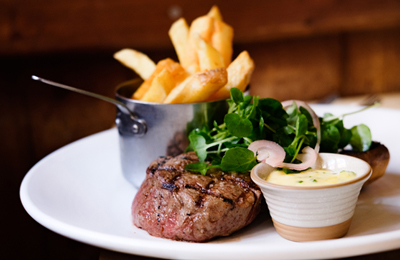 The Chamberlain Hotel Tower Hill London - steak restaurant offers